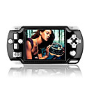 4GB 3.5 Inch PSP Style Digital Game MP4 Player With FM/Digital Camera Black(MXQ014)