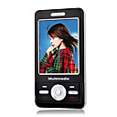 CECT C1600 Dual Card Tri-Band Dual Slide TV Function Cell Phone Black