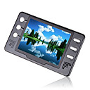 4gb de 3.5 pulgadas con reproductor digital de mp4/mp5 fm negro (mxq018)