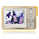 8GB 2.4 Inch MP5/MP3 Player With Clip Out Speaker Digital Camera Silver/Yellow(MXQ036)