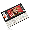 dual card tri-band groot touch-screen display en qwerty-toetsenbord pda mobiele telefoon zwart
