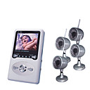 2.4Ghz Wireless Baby Monitor/PVR and Receiver (RC820A + CM802CWAS&4-LYD010)