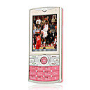Jiaxin 520 Dual Card  Touch Screen Cell  Phone Pink