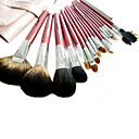 18Pcs Horsehair Professional Cosmetic Brush Set