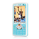 ZTC 8168 Dual Card Touch Screen Cell  Phone Blue