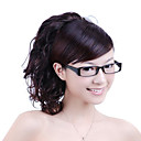 Synthetic Hairpiece - Dark Brown Curly Ponytail