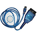 OBD2 OBD II diagnostic cble usb kkl409.1 vag-com 409 (szc584)