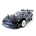 01:10 rc 15 motor 2 versnellingen 4wd nitro gas zwart lamborghini auto (yx00556-1)