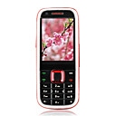 N5130 Dual Card Quad Band Dual Camera Ultra-thin TV Function Cell Phone Black&amp;Red