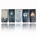 Ipod Leather Case with Cool Picture Printed For Ipod Nano Gen 4 - five pieces per package (SA16)