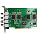 4-ch. Real Time PC DVR Cards Image compression: H.264 optimized without Audio