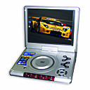 10.4-inch Portable DVD Player with TV Function, USB Port and 3-in-1 Card Reader(SMQ2450)
