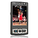 N95 8GB Quad Band Flip Phone Black