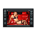 6.2-inch Touch Screen 2 Din In-Dash Car DVD Player TV and Bluetooth Function 6620B
