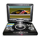 9-Zoll-Portable DVD-Player mit TV-Funktion, USB-Anschluss, 3-in-1 Kartenleser und Spiele (smq2448)