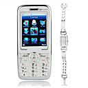 E358 Dual Card Dual Standby Bar Phone Silver (SZXHY028)