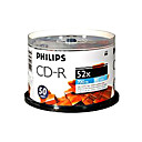 50 Philip CD-R 52x Blank Media(700MB)(SMQ2732)
