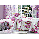 4-pc Petal Cotton Full Size Duvet Cover Set - Free Shipping (0580-9S200015S)