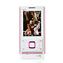 N70 Dual Card Dual Standby Dual Band Flat Touch Screen Cell Phone Pink (2GB TF Card)(SZ05450166)