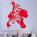 Candy Girl Wall Stickers (0565-gz078)