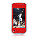 N97 style Dual Card Dual Standby Quad Band Cell Phone Red (2GB TF Card)(SZ05450188)