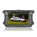 7 inch Digital Touch Screen Car DVD Player - GPS - FM - Bluetooth - Steering Wheel Control For Volkswagen Passat - Sagitar 2007 to 2009