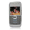 Zl-E71i Style Dual Camera Dual Card Quad Band with TV QWERTY Keypad Cell Phone Black (2GB TF Card)