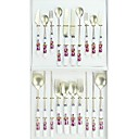 16-pc Luxury Ceramic Handle Kitchen Tableware set (0612-TA-26)