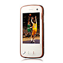 N97 style Quad Band Dual Card Dual Standby TV Function JAVA Dual Camera Flat Touch Screen Cell Phone Brown (2GB TF Card)(SZ05440117)