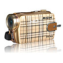 RICH HD-Q3 5.0MP CMOS 12.0MP Enhanced Digital Camcorder with 3.0inch Touch LCD Screen 3X Digital Zoom(SMQ5649)