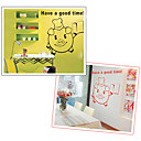 Pig Waiter Wall Sticker (0565-gz193)