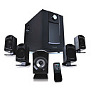 Microlab High Fidelity 5.1 Surround Speaker System with 62W Amplifier and Remote Control(SMQC257)