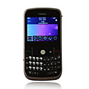8500 Quad Band Dual Card Dual Standby QWERTY Keypad JAVA Trackball Bar Cell Phone Black (2GB TF Card)