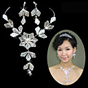 Gorgeous Clear Crystals Wedding Bridal Jewelry Set (TL0305)
