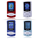 2GB 1.5-inch MP3 / MP4 Players With FM Function 4 Color/4 Pieces Per Package(SHB856)