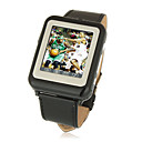 AK09 Cheapest Tri Band Ultra Thin Sports Wrist Watch Cell Phone Black (2GB TF Card)