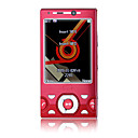 W995 Dual Card Dual Camera Quad Band TV Function Silde Cell Phone Red (2GB TF Card)