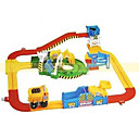 Self Assembled Toy Electric Rail Engineering Vehicle Best Christmas Gift for Kids (CEG1071)