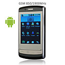 N19 Google Android OS WIFI JAVA Bluetooth Smart 3.2 Inch Touch Screen Cell Phone Black (2GB TF Card)