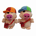 Lovely Plush Baby Piggy in Hat Stereo Speaker for DVD - AM - FM radio - MP3 (SMQ3482)