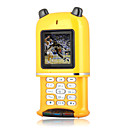 Chuangku X1 Quad Band Dual Card Bluetooth FM Slide Cell Phone Yellow (2GB TF Card)