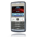 E73 quadribande double carte  double clavier qwerty camra java plat  cran tactile bar de mobile bleu (carte 2GB TF) (sz05440240)