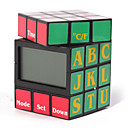 Magic Cube LCD Time Date Temperature Display Alarm Clock (QWN044)