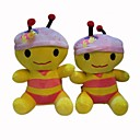 Lovely Plush HoneyBee Stereo Speaker for DVD - AM - FM radio - MP3 (SMQ3475)