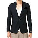 Men's 1-Button Wool Leasure Suit (LGT1110-18)