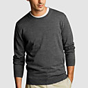 Crewneck men's cashmere sweaters(3003AK006-0681)