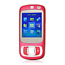 K530 Qaud Band Dual Card JAVA TV Cell Phone Red (2GB TF Card)