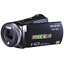 RICH HD-M5 5.0MP CMOS 12.0MP Enhanced Digital Camcorder with 3.0inch Touch LCD Screen  5X Optical Zoom 10X Digital Zoom(SMQ5643)