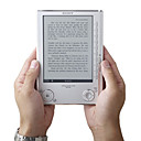 Sony PRS-505 draagbare e-reader digitale ebook reader zilver (ceg417)