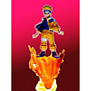 Hand Painted GK Resin Figure Naruto Uzumaki and Nine-Tailed Demon Fox (CEG80069)